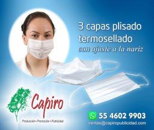 Protección tricapa plisado termosellado